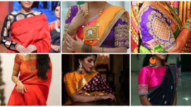 Photo of Latest silk saree blouse designs