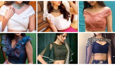 Photo of Stylish crop top blouse designs idea