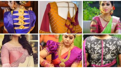 Photo of Saree blouse designs
