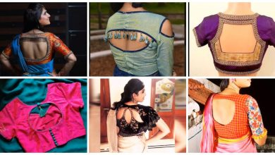 Photo of Most Beautiful blouse back design