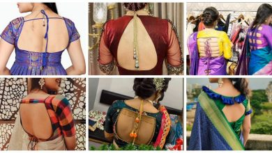 Photo of Blouse back designs