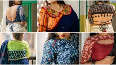 Photo of Mix-Match Your Handloom Sarees With  Striking Contrast Blouses!