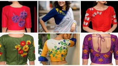 Photo of Gorgeous nature inspired embroidered blouse designs