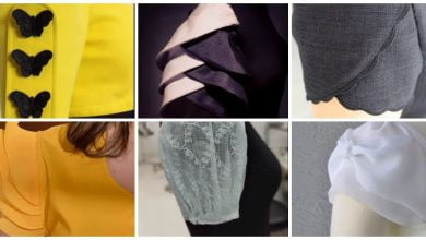 Photo of New blouse sleeves design