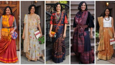 Photo of Contemporary Saree Styling And Draping Styles