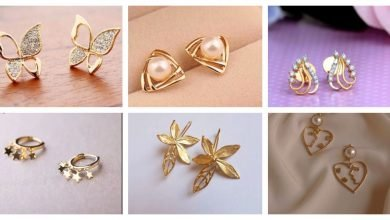 Photo of Simple daily wear gold earring design