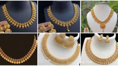 Photo of Simple and beautiful gold necklace designs