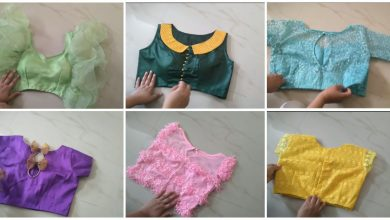Photo of Model Blouse Designs