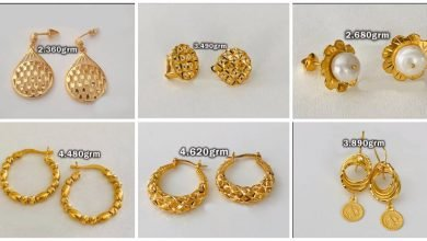 Photo of Gold earring design