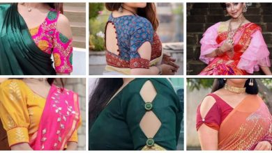 Photo of Beautiful New Latest Blouse Sleeve Designs