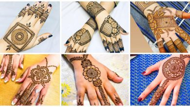 Photo of Stylish mehndi design