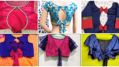 Photo of Bow style new blouse design