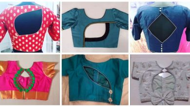 Photo of Most beautiful blouse back neck designs