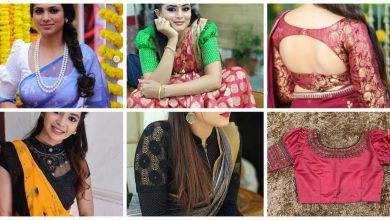 Photo of Different type blouse design
