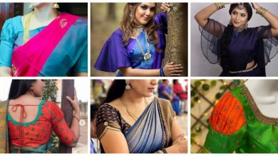 Photo of Different blouse sleeve design