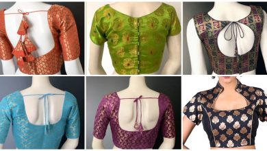 Photo of New Brocade Blouse designs