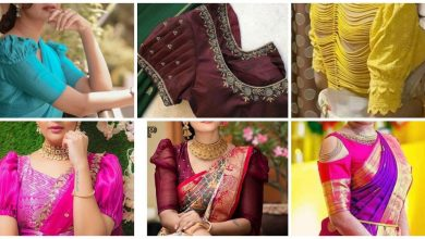 Photo of Different type blouse sleeve design