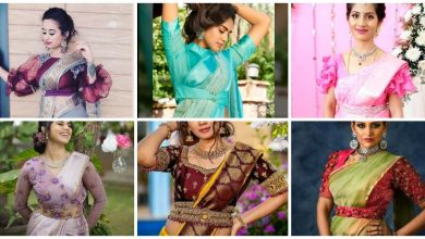 Photo of Party Wear Blouse Designs With Belt Pattern