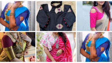 Photo of Latest boat neck blouse designs