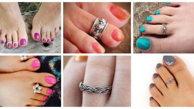 Photo of Latest Beautiful Silver Toe Ring Design Collection