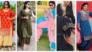 Photo of Different types of punjabi party wear suits