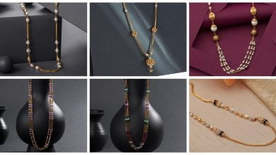 Photo of Latest long gold necklace designs