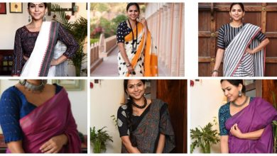 Photo of Handloom sarees with blouse