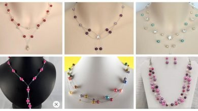 Photo of Stylish pearl necklace design
